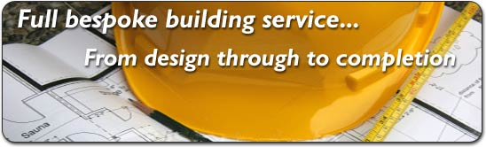 Local building firm- full service from planning to completion